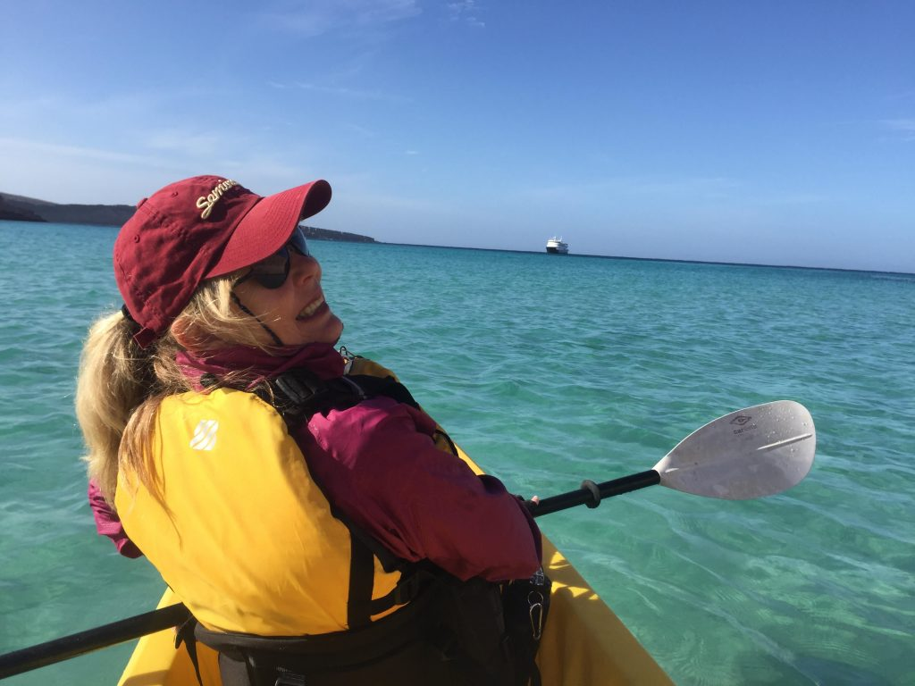 Kayaking UnCruise Adventures Baja